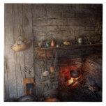Cocinero - cocina - casero para los días de fiesta tejas  ceramicas