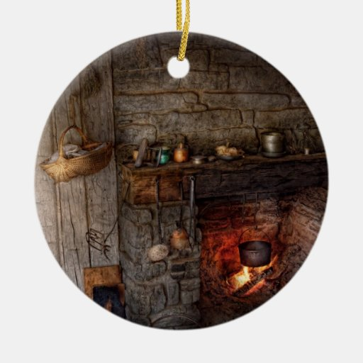 Cocinero - cocina - casero para los días de fiesta ornamento para reyes magos