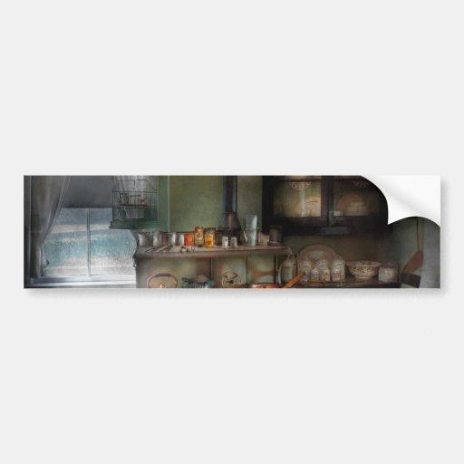 Cocinero - cocina - cocina 1908 pegatina de parachoque