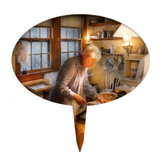 Cocinero - cocina - que vuelve a casa para los día figuras de tarta