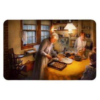 Cocinero - cocina - que vuelve a casa para los día imán