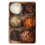 Cocinero - comida - comida sana iman de vinilo