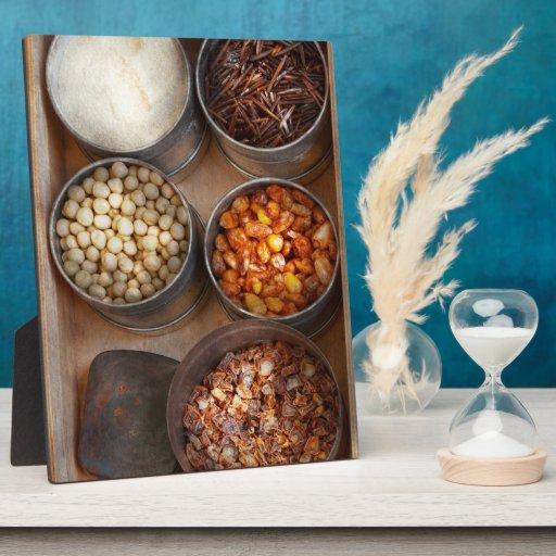 Cocinero - comida - comida sana placas para mostrar