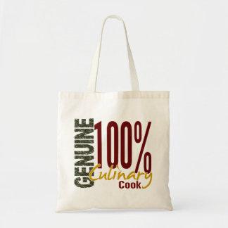 Cocinero culinario auténtico bolsa tela barata