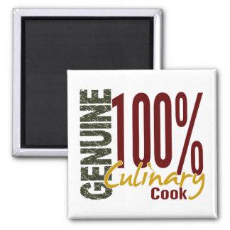 Cocinero culinario auténtico imanes de nevera