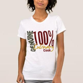 Cocinero culinario auténtico tee shirts
