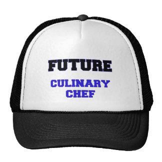 Cocinero culinario futuro gorro de camionero
