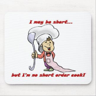 Cocinero de breve plazo tapete de raton