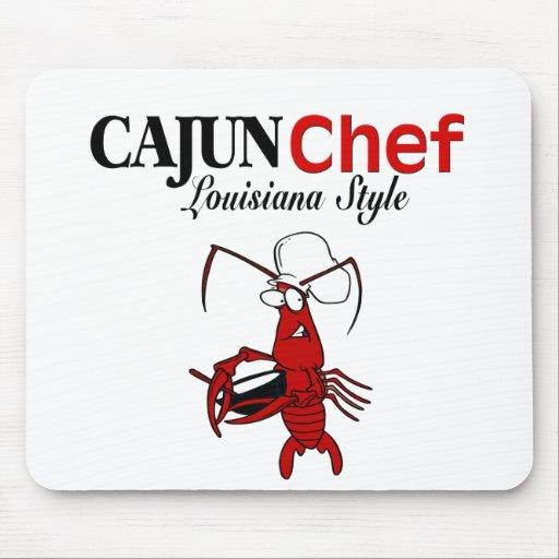 Cocinero de Cajun Tapete De Raton