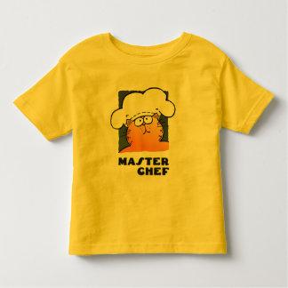Cocinero de cocinar divertido divertido del playera de bebé