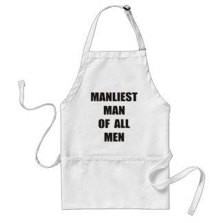 Cocinero de hombres delantal