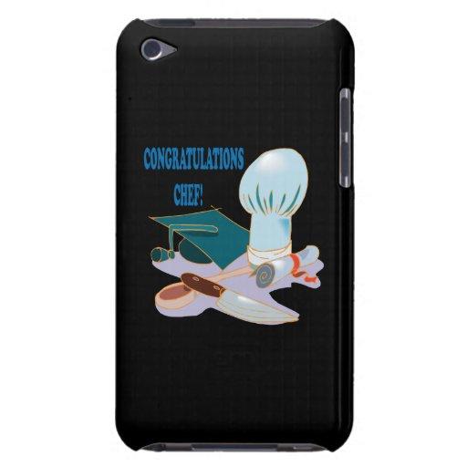 Cocinero de la enhorabuena iPod Case-Mate carcasas