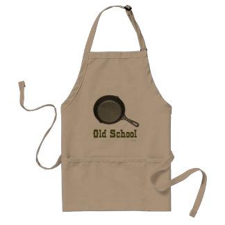 Cocinero de la escuela vieja delantal