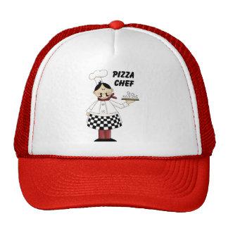 Cocinero de la pizza gorro de camionero