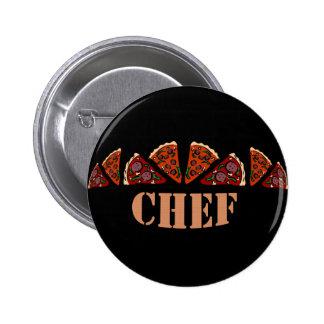 Cocinero de la pizza pin