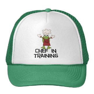 Cocinero de la rana en camisetas y regalos del ent gorro de camionero
