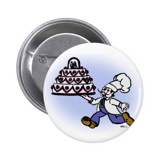 Cocinero de la torta pins