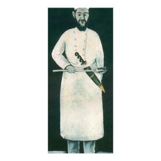Cocinero de Niko Pirosmani Tarjetas Publicitarias Personalizadas