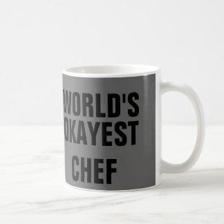 Cocinero de Okayest Tazas De Café