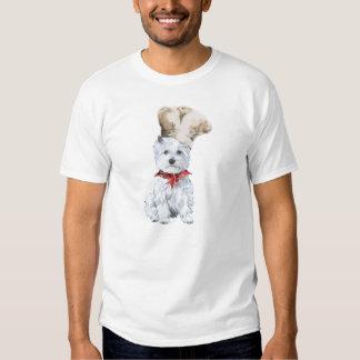 Cocinero de Terrier blanco de montaña del oeste Remeras