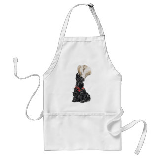 Cocinero de Terrier del escocés Delantales