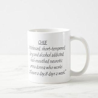 Cocinero definido taza