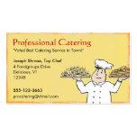 Cocinero del abastecimiento plantilla de tarjeta de visita