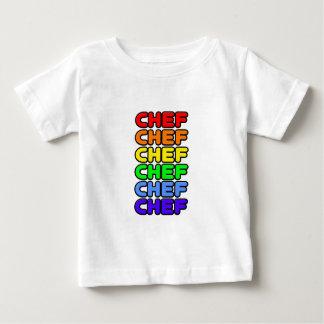 Cocinero del arco iris t-shirt