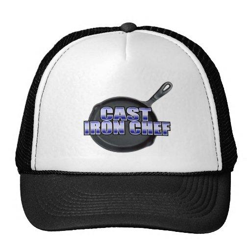 Cocinero del arrabio gorras de camionero