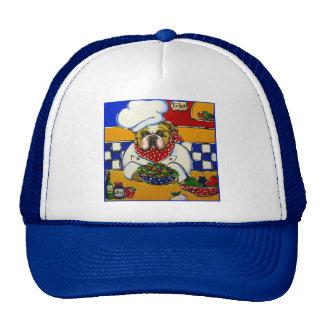 Cocinero del dogo gorras