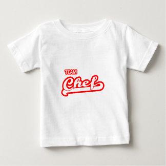 Cocinero del equipo camisetas