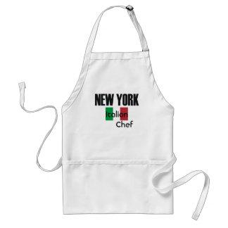 Cocinero del italiano de NewYork Delantal