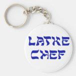 Cocinero del Latke Llaveros