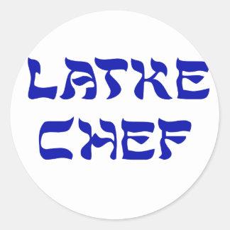 Cocinero del Latke Pegatinas