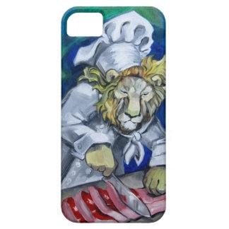 Cocinero del león funda para iPhone SE/5/5s