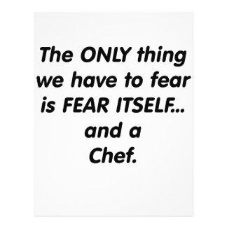 cocinero del miedo tarjetones