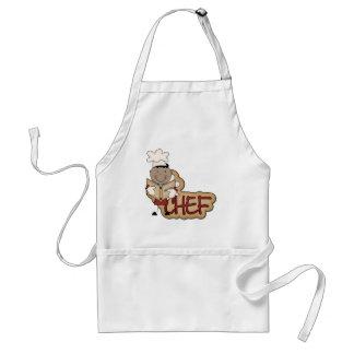 Cocinero del muchacho - camisetas afroamericanas y delantal