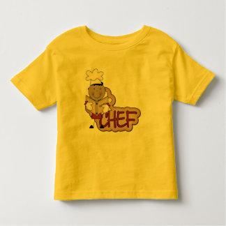 Cocinero del muchacho - camisetas afroamericanas y poleras