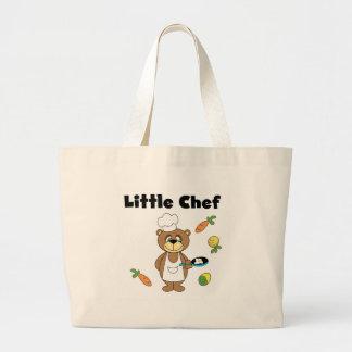 Cocinero del oso de peluche pequeño bolsa