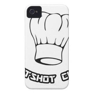 Cocinero del pez gordo Case-Mate iPhone 4 cárcasas