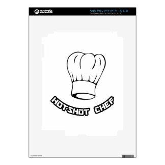 Cocinero del pez gordo pegatina skin para iPad 3