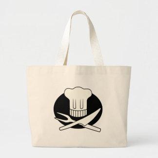 Cocinero del pirata bolsas lienzo