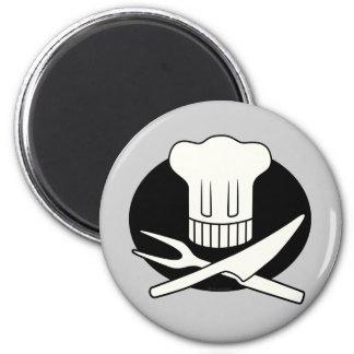 Cocinero del pirata imán de nevera