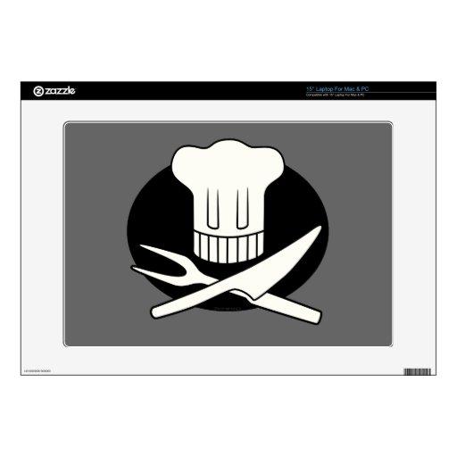 Cocinero del pirata skins para 38,1cm portátil