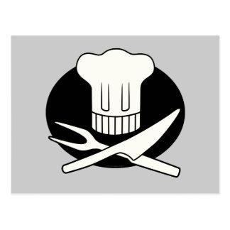 Cocinero del pirata tarjeta postal
