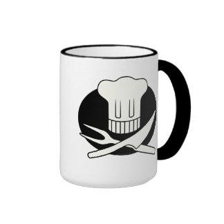Cocinero del pirata tazas de café