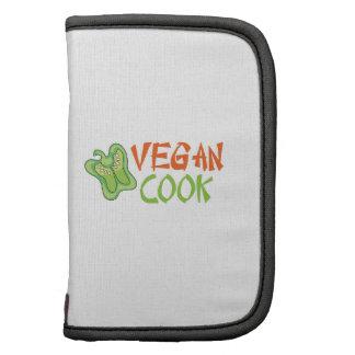 Cocinero del vegano planificador
