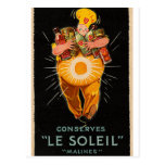 """Cocinero del vintage de """"Le Soleil"""""""