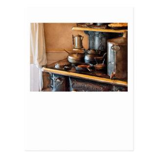 Cocinero - desayuno en mis bisabuelas tarjetas postales