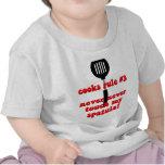 Cocinero divertido camiseta